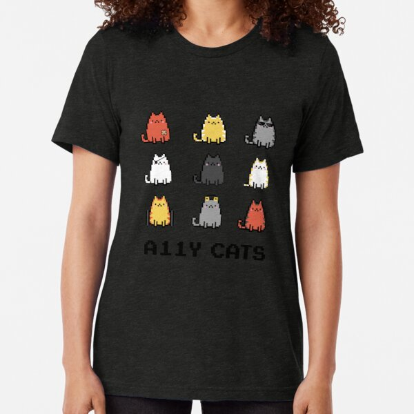 Accessibility A11y Cats Tri-blend T-Shirt