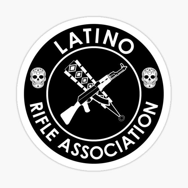 Latino Rifle Association Official Logo Sticker