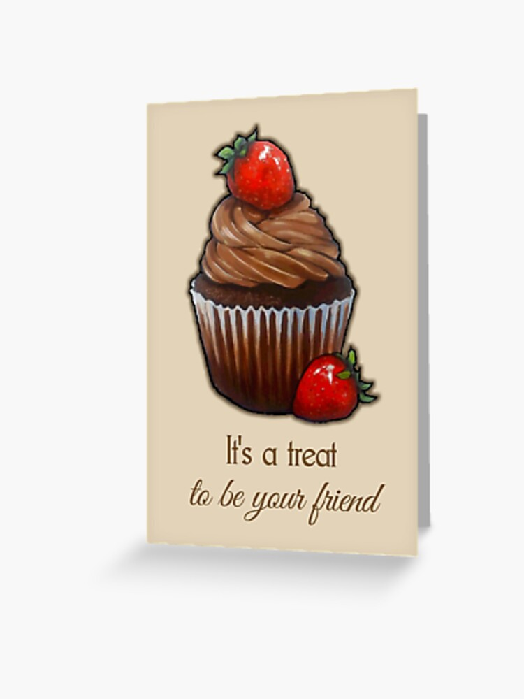 Being Your BFF Is A Treat Greeting Card
