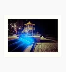 Surfers Paradise lifesavers tower Art Print
