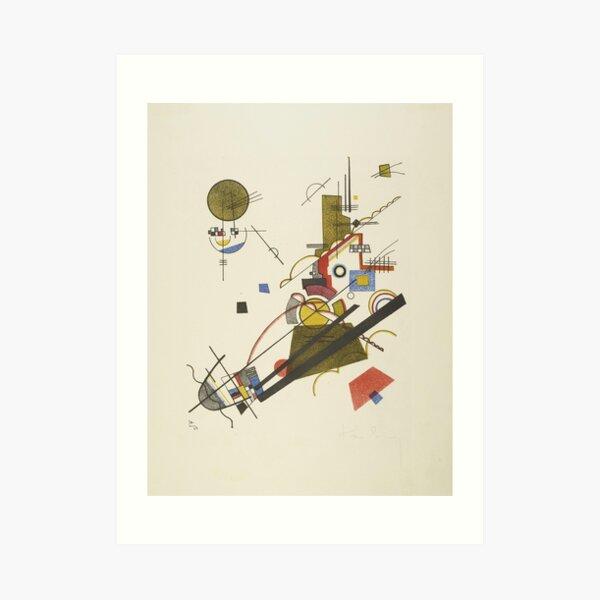 Wassily Kandinsky - Ascenso alegre Lámina artística