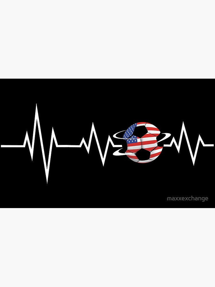 EKG Soccer USA Ensign Cardiologist Goalkeeper. by maxxexchange