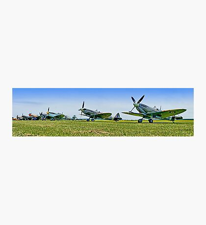 Flightline Panorama - Duxford 26.05.2013 Photographic Print
