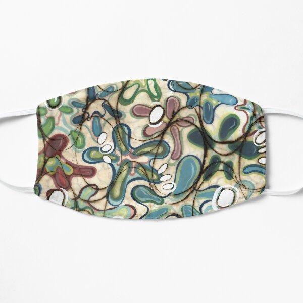 Fraternal Foliage (water) Flat Mask