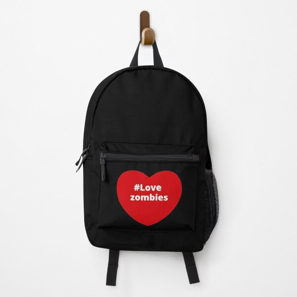 Love Zombies - Hashtag Your i Love Heart  Backpack