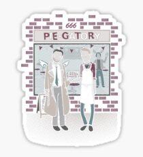 Pie-Gatory! Sticker