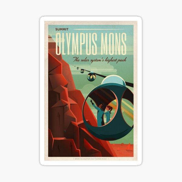 Olympus Mons Sticker