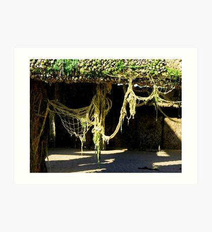 Nets & Ropes Art Print