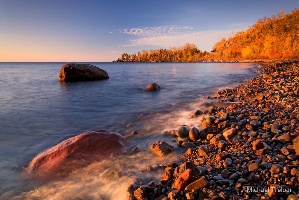 Cut Face Creek, Lake Superior by Michael Treloar