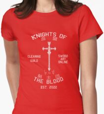Knights of the Blood Guild Shirt Women's Fitted T-Shirt
