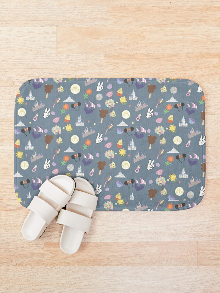 Alternate view of Meet Me at My Happy Place Bath Mat