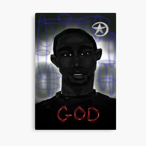 The Black Man Is God Canvas Print