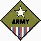 WW2 American Army Shipping Placard by W4rnings