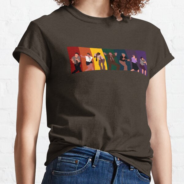 tgwdlm rainbow cast drawing Classic T-Shirt