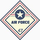 US Air Force Shipping Placard by W4rnings