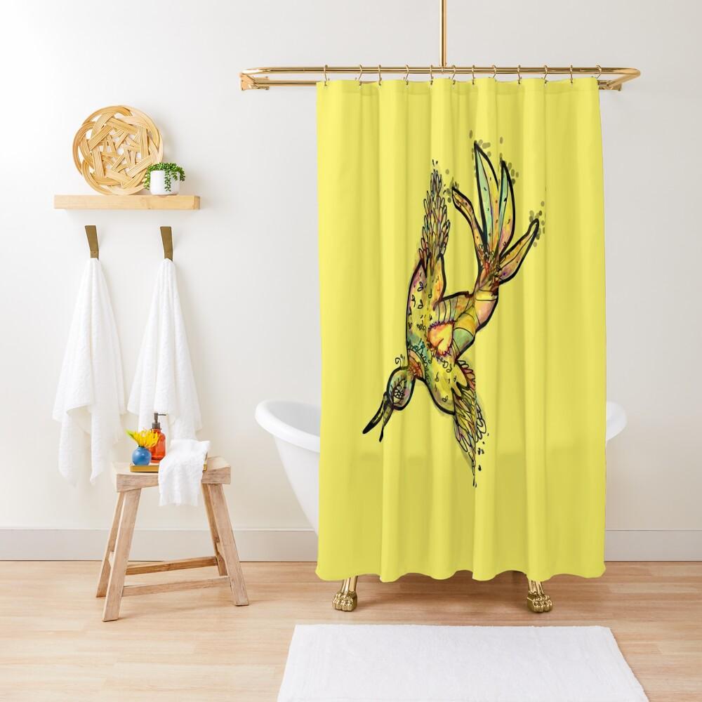 The Bird Shower Curtain