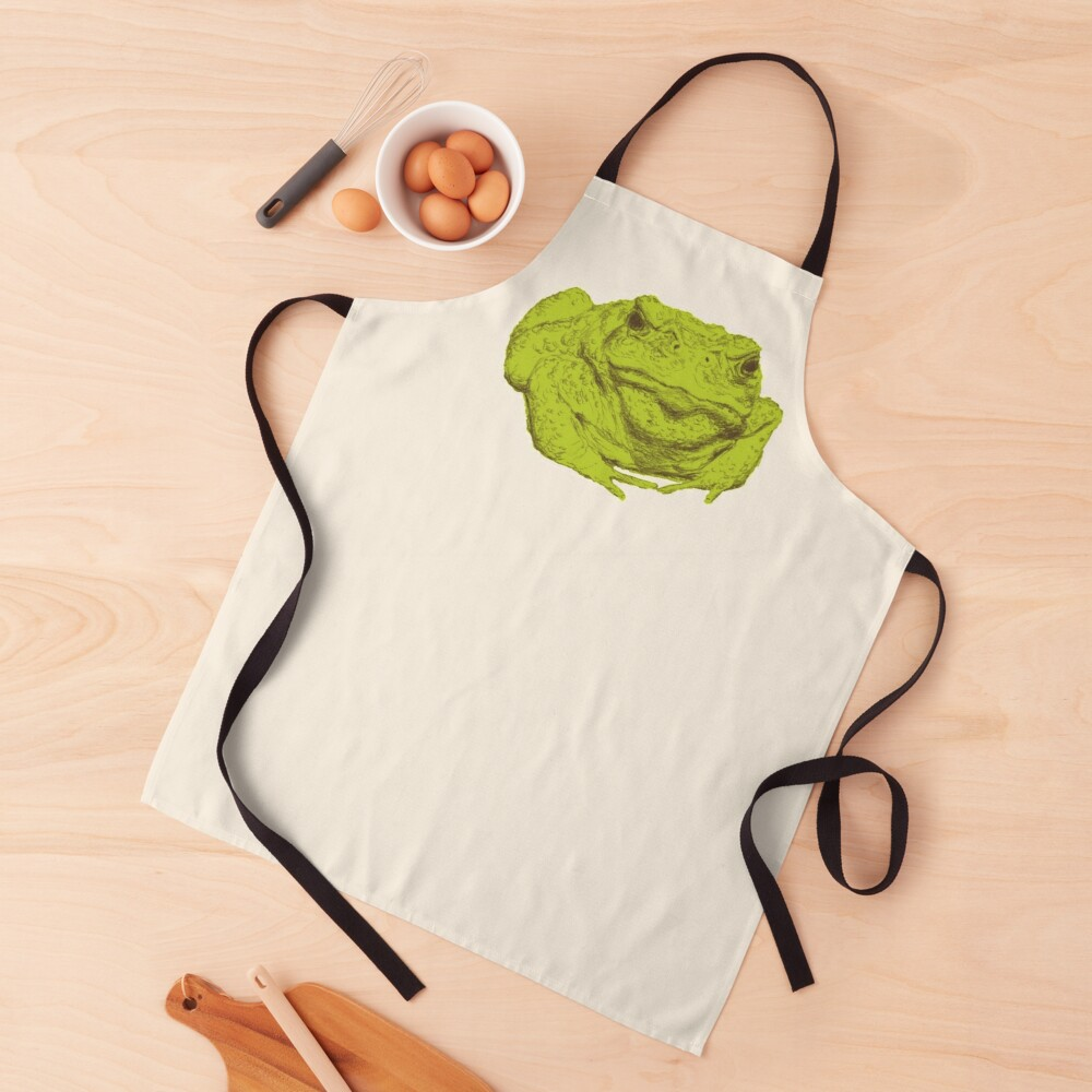 A Toad Named Ali Apron