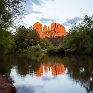 Cathedral Rock Reflection 3 by eegibson