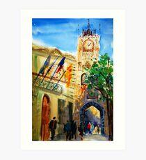 Aix en Provence Art Print