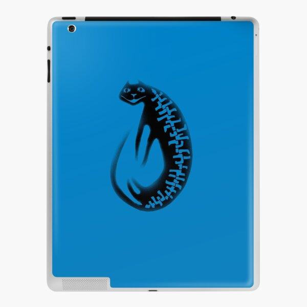 Disappearing black cat  iPad Skin