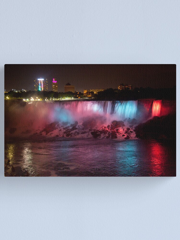 Alternate view of Light of the Falls Canvas Print