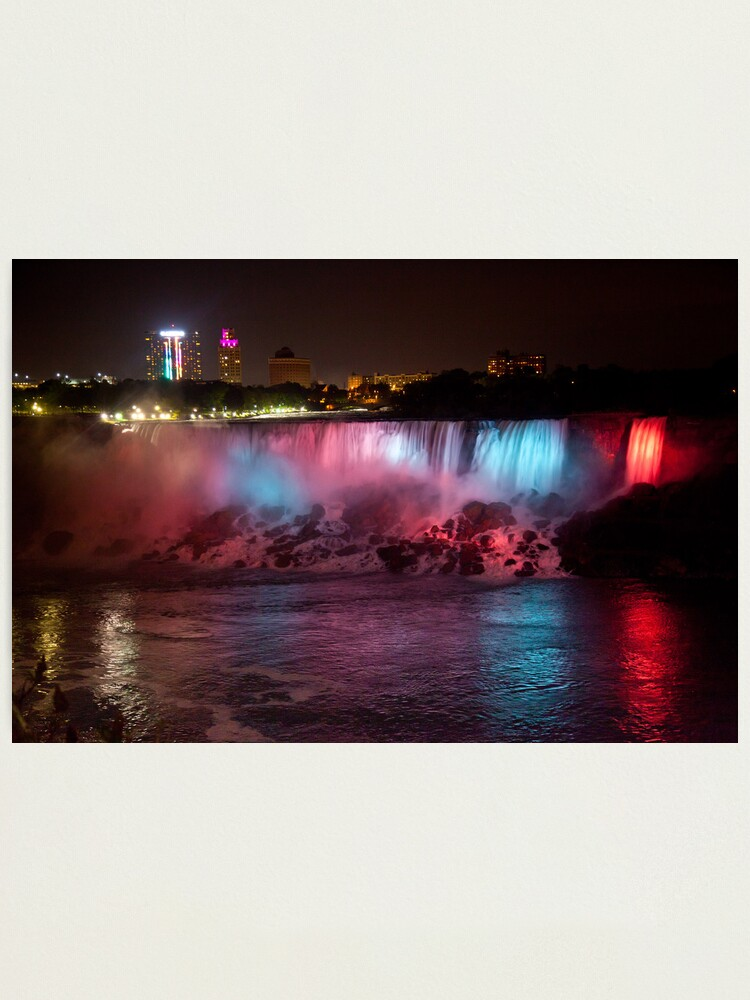 Alternate view of Light of the Falls Photographic Print