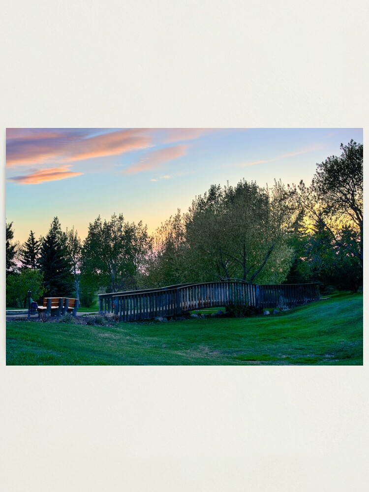 Alternate view of Lonely Bridge Photographic Print