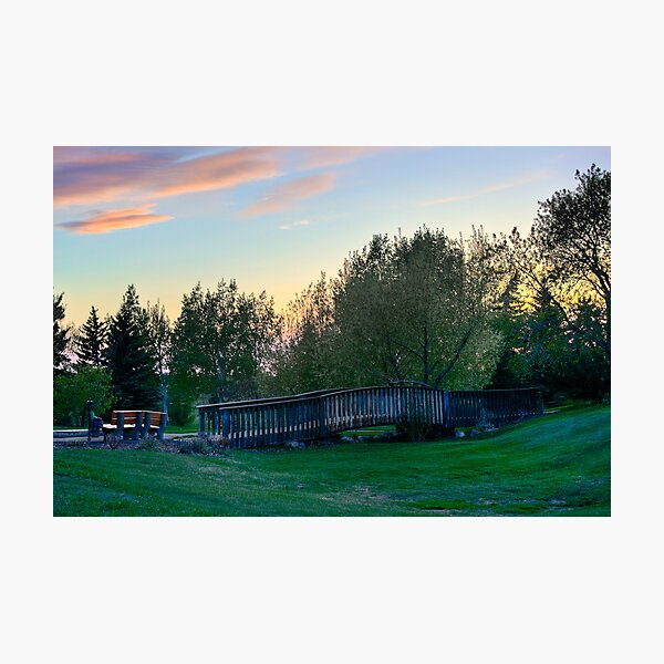 Lonely Bridge Photographic Print