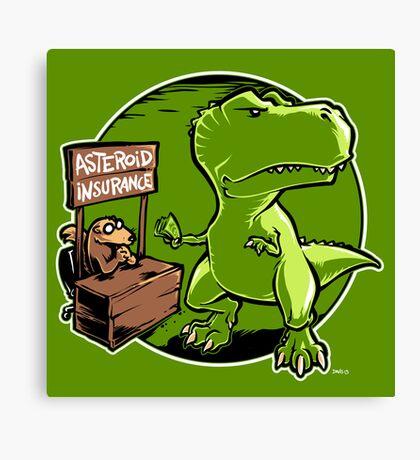 Asteroid Insurance Canvas Print