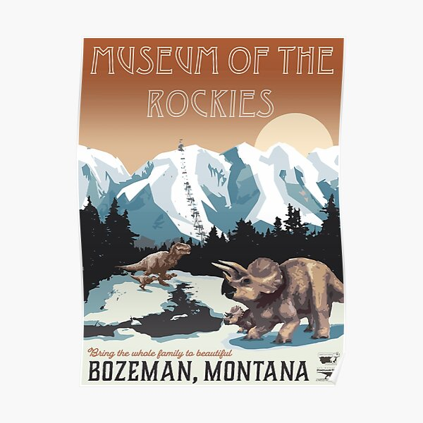 Museum of the Rockies Poster