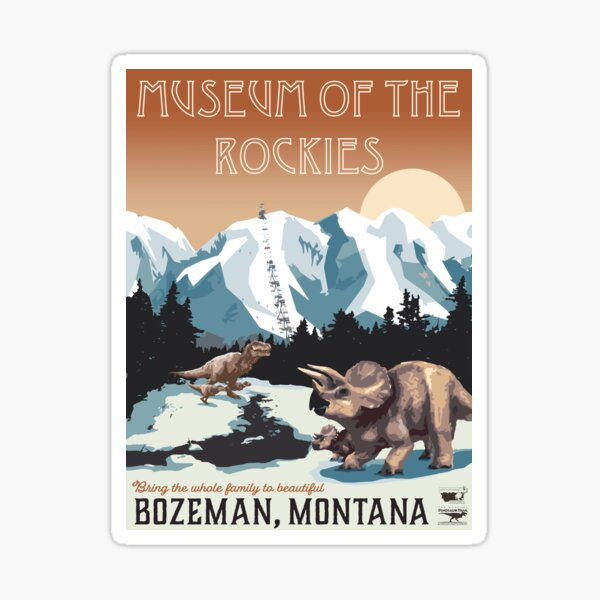 Museum of the Rockies Sticker