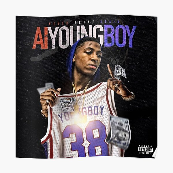 AI Youngboy  NBA Youngboy  Poster