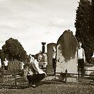 Exploring Lilydale Cemetery by Colin  Ewington