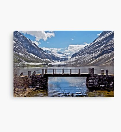 Lake Eidsvatten - Another view Canvas Print