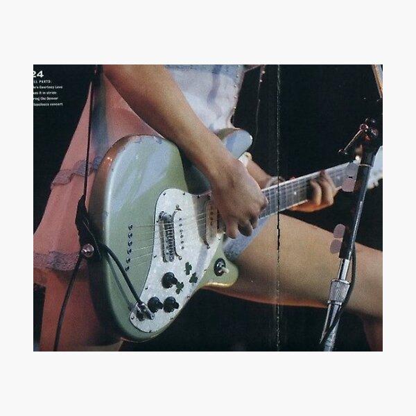 Retro Guitar shot Photographic Print