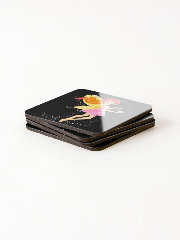 Alternate view of Francesca The Good Witch Fairy™ Coasters (Set of 4)