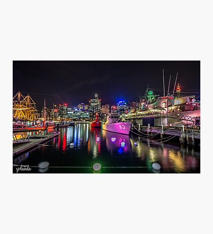 Vivid at the Maritime Photographic Print