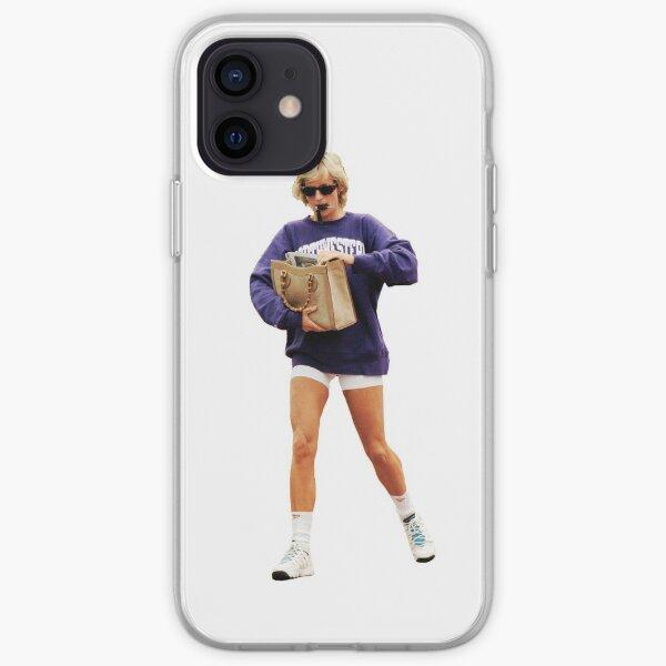Princess Diana Northwestern Sweatshirt iPhone Soft Case