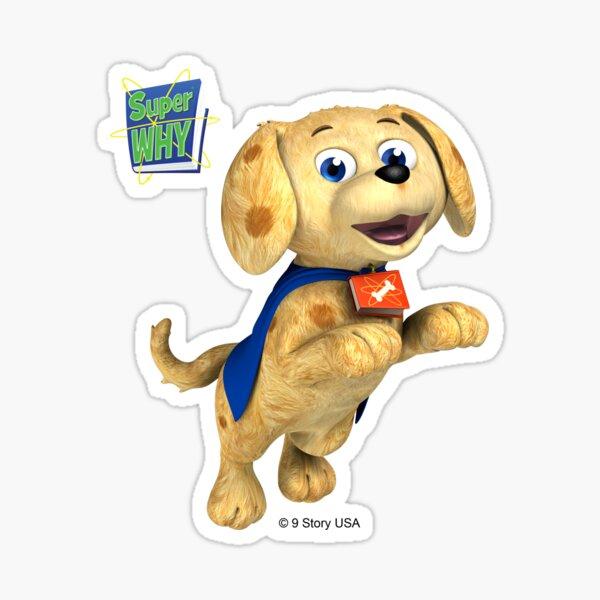 Super WHY! Woofster Sticker