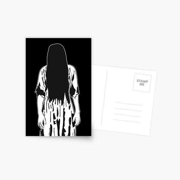 The Ring Horror Movie Postcard