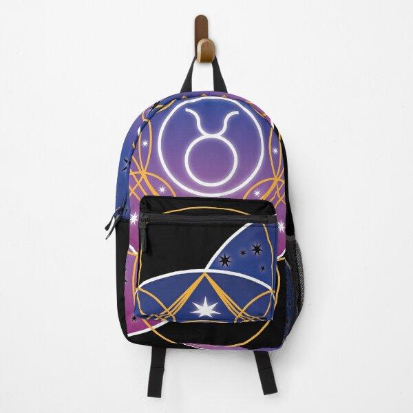 Star sign Taurus Backpack