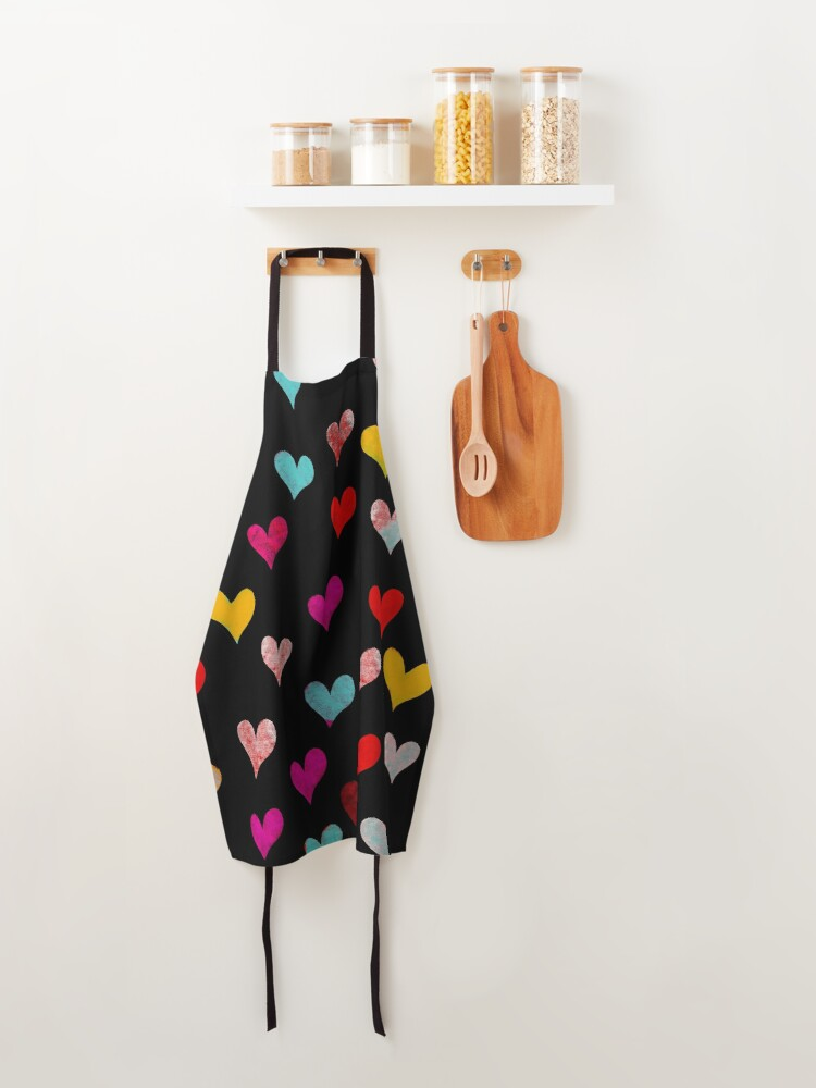 Alternate view of Hearts sweet hearts Apron