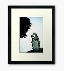Merlion - Lomo Framed Print