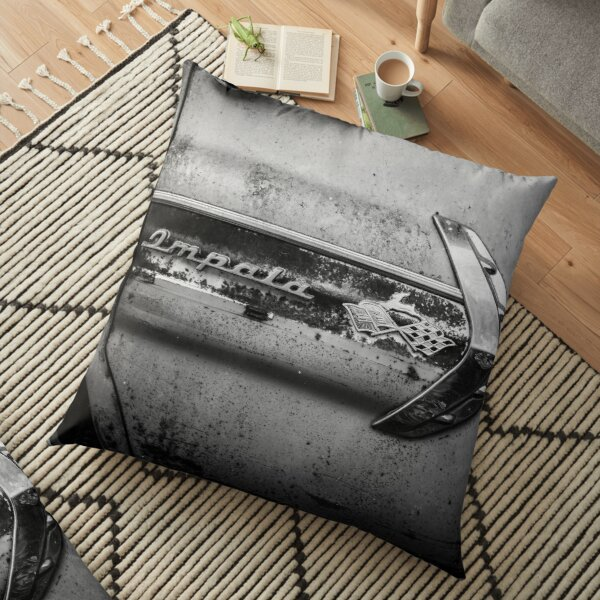 Chevrolet Impala 1960s Classic Car Floor Pillow