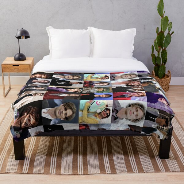 MGG collage Throw Blanket