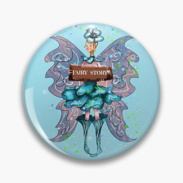 Felsie The Fairy Story Fairy™ Pin