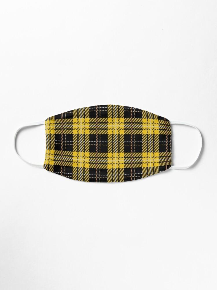 Alternate view of House Tartan - Huffle Mask