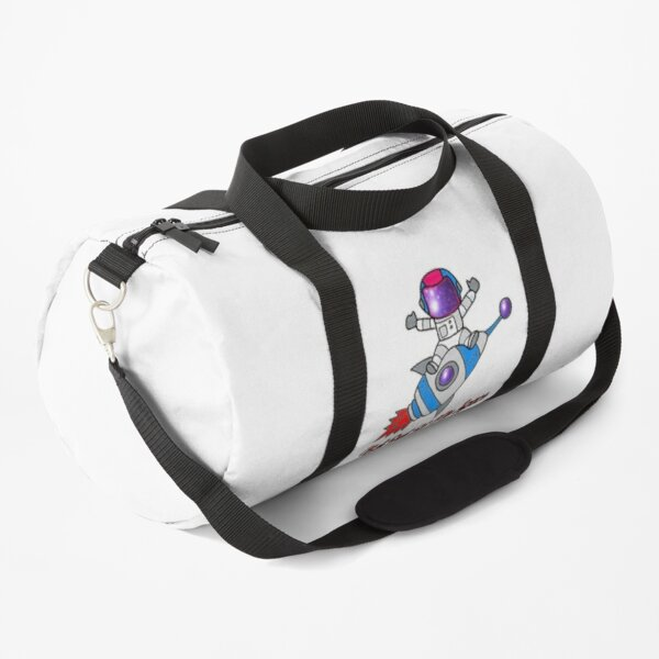 SPACE ASTRONAUT Get Out Of My Space Duffle Bag