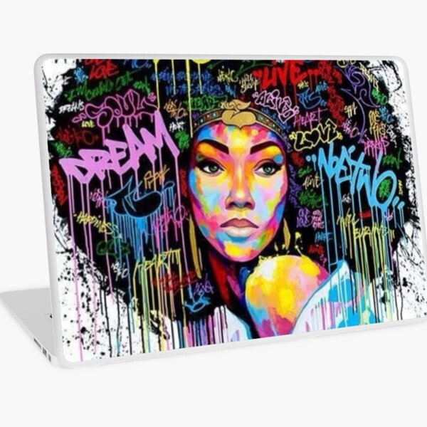 Own your Afro. Laptop Skin