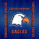 Carson-Newman Eagles iPhone Case v2 by flip20xx